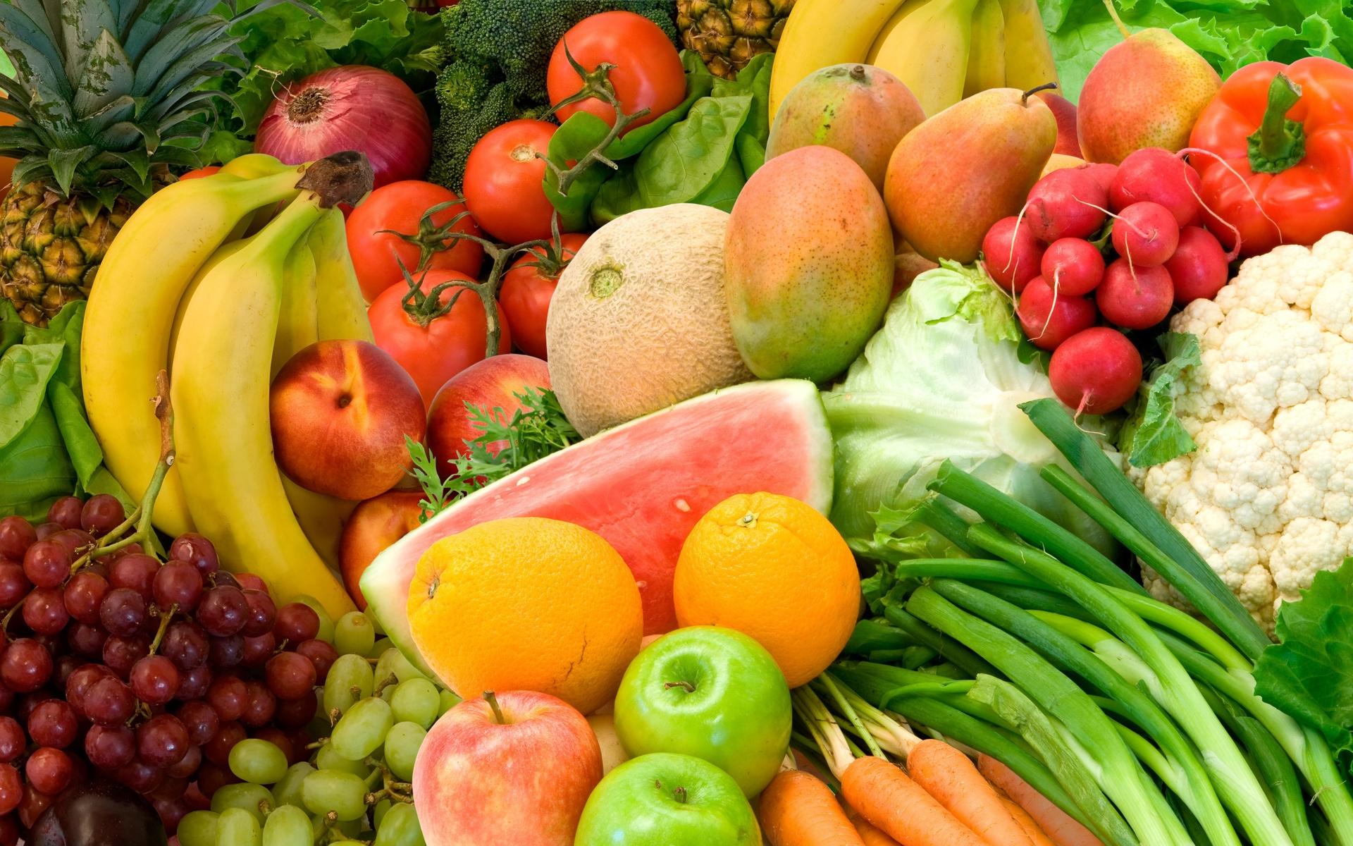 Все продукты и овощи и фрукты картинки